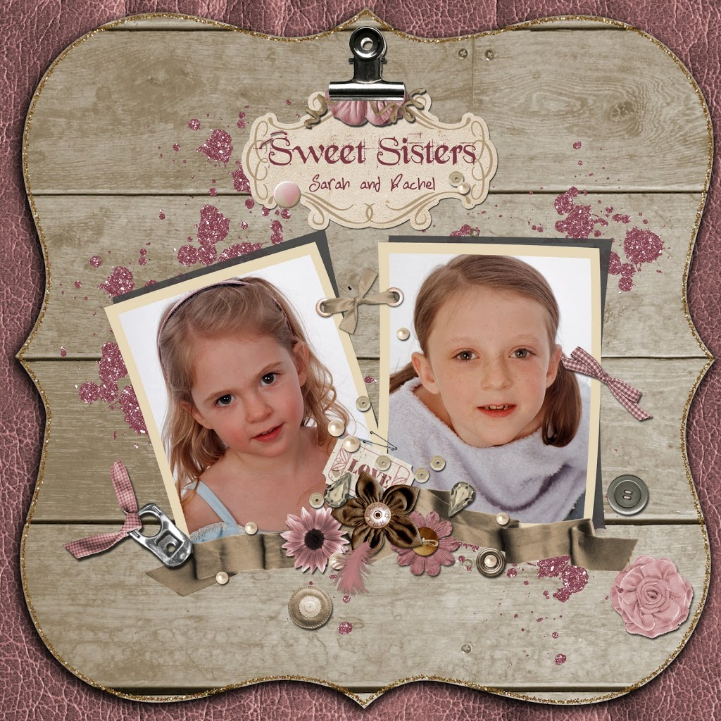 "New Layout….""Sweet Sisters"""