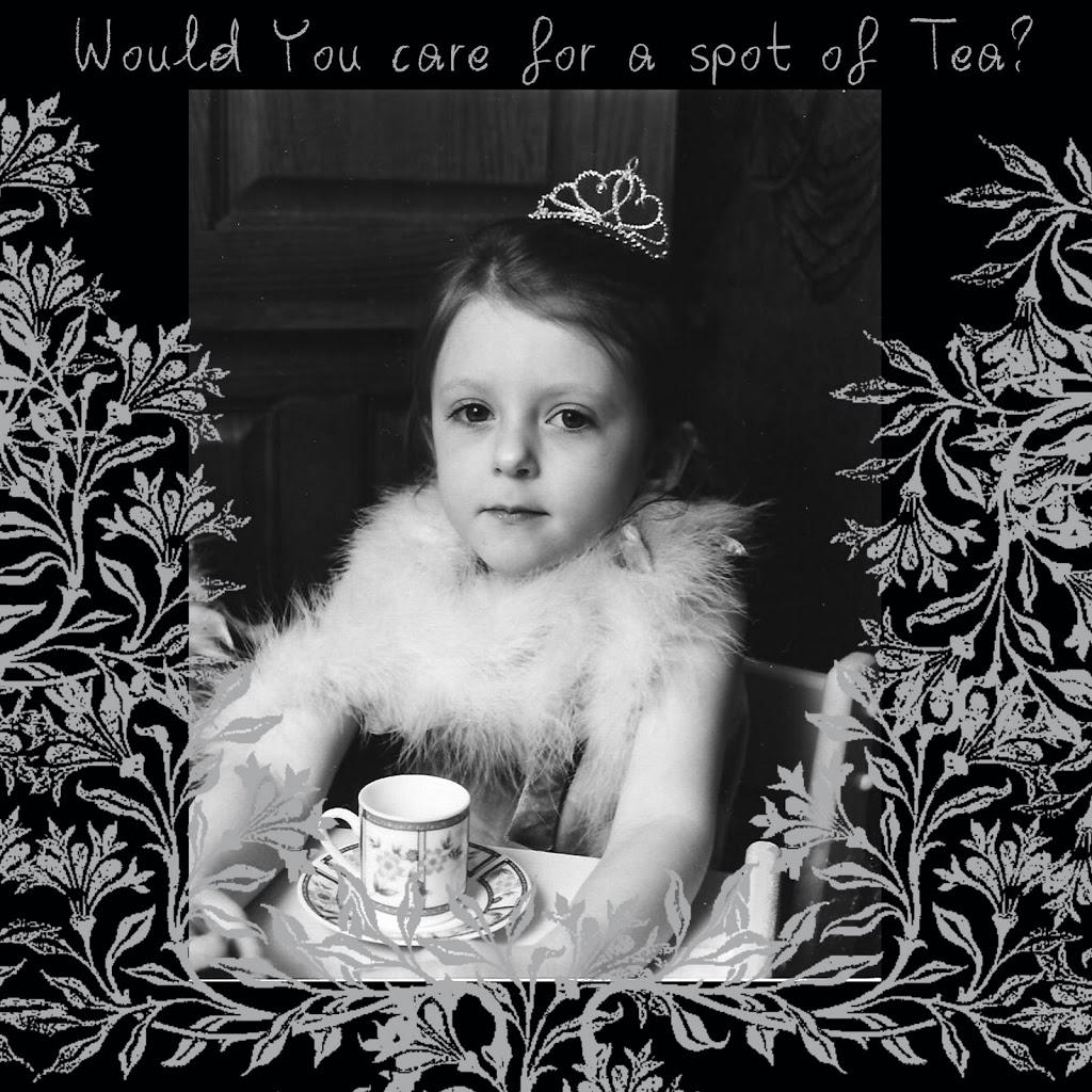 Princess Tea Party Layout