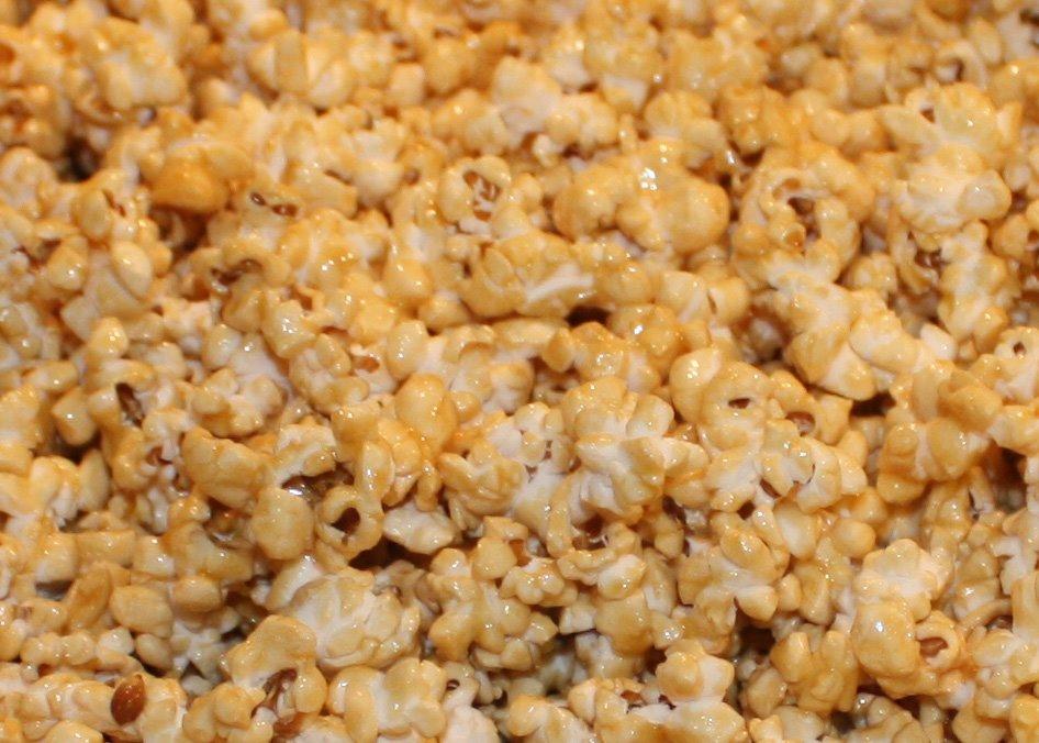 Microwave Carmel Corn