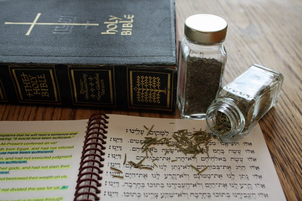 Seder Supper…This is the Passover Festival!