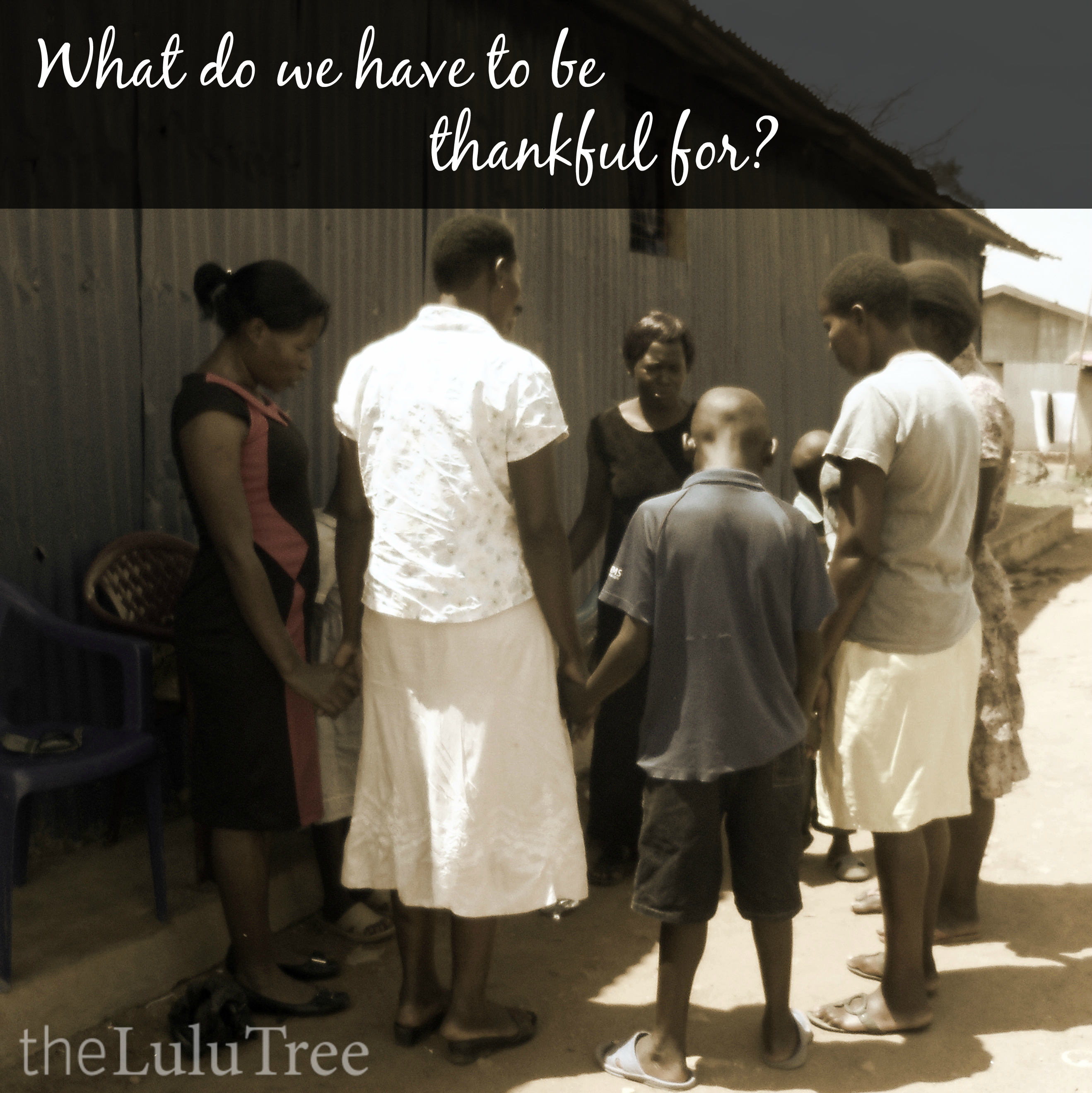 What do we have to be thankful for? (A post from the Lulu Tree)