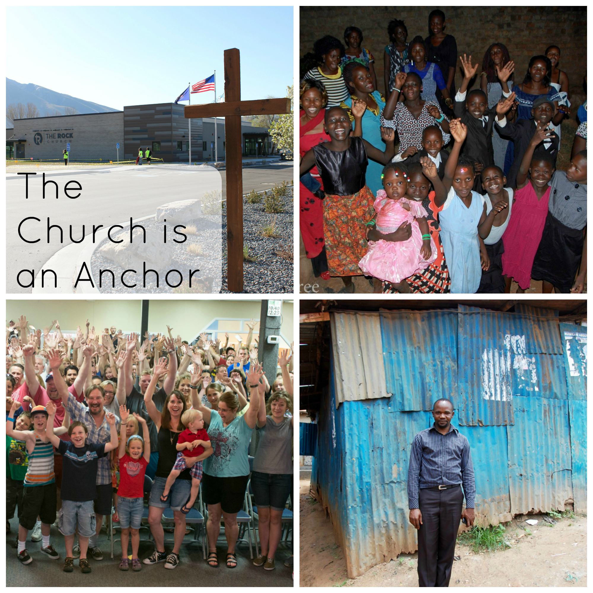 church is an anchor