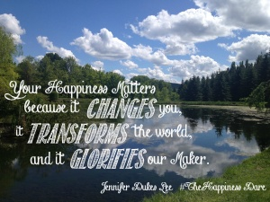 your happines matters