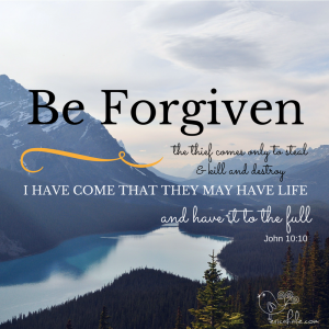 be forgiven